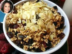 Bethenny Frankel's Nutty Granola Recipe : People.com