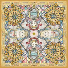 Autumn Winter 2013 – HEVER HOUSE    Leadlight  Wool  135x135 cm #Luxury  #Lifestyle #Silk #Scarves