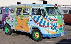 Hippie Lifestyle, Volkswagen Bus, Busses, Camper Van, Embedded Image Permalink, Vans, Camping, Vehicles, Campsite