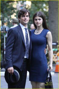 Okay, Alexandra Daddario would also make an awesome Anastasia Steele aslong as Matt Bomer is Christian Grey!