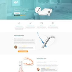 Create a new home page for a renowned smart bidet seat brand! by KoFe