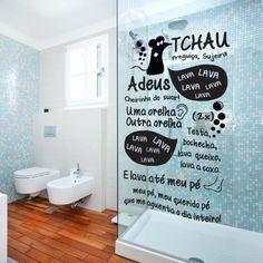 Esse Adesivo de Banheiro Box Ratinho Castelo Rá-Tim-Bum traz uma proposta irreverente e autêntica para o seu espaço. Temos certeza você, seus amigos e familiares vão adorar. Aproveite e compre agora mesmo!