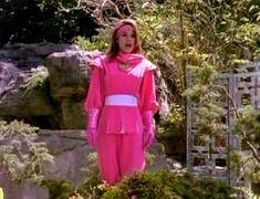 Kimberly in the Ninja Quest Kimberly Hart, Amy Jo Johnson, Tommy Oliver, Pink Power Rangers, Childhood Memories, Peplum Dress, Actresses, Female, Ninja