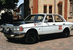 1978 Mercedes Benz 280E W123 Fatory Rally Car For Sale Front