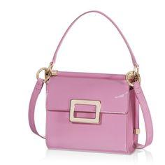 Roger Vivier Miss Viv Mini Shoulder Bag in Patent Leather