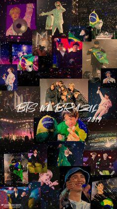 190526 Speak Yourself Tour Concert in Brazil Namjoon, Taehyung, Kookie Bts, Bts Bangtan Boy, Seokjin, Foto Jungkook, Brazil Wallpaper, Bts Wallpaper, Foto Bts