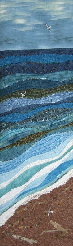beach scene quilts - Google Search