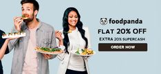 #Foodpanda Exclusive Coupons & Offers on Food