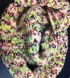 Chunky Crochet Cowl Scarf - SALE on Etsy, $15.00 SALE!!!!!!!!!!!