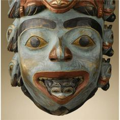 Tlingit shaman's mask