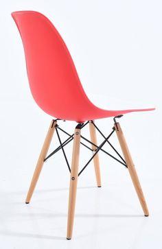 "Chaise Eames style ""Bi couleur"""