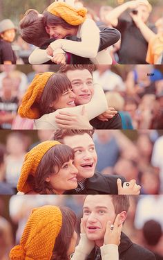 Rachel and Kurt - one of the sweetest ever Glee moments.