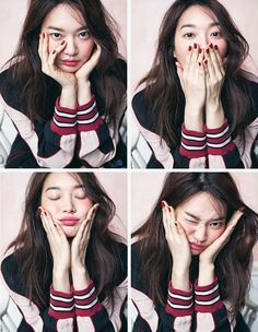 More of Shin Min Ah for Cosmopolitan's March 2016 Issue   Couch Kimchi