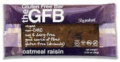 This sweet and salty snack bar makes for a tasty treat any time of day. Boasting natural ingredients, this vegan, gluten- and soy-free bar is packed with protein and great to grab on-the-go. Gluten Free Bars, Gluten Free Peanut Butter, Gluten Free Baking, Dairy Free, Gourmet Food Gifts, Gourmet Recipes, Brown Rice Protein, California Raisins, Organic Brown Rice