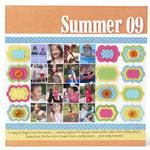 Designing in Layers - scrapbooking ideas using layering punches.  Free scrapbook class from Spotted Canary.