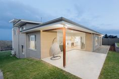 Seaview Display Homes in Sapphire Coast Open Stairs, Glass Stairs, Stacking Doors, Alfresco Area, Display Homes, Timber Flooring, Outdoor Living Areas, Large Homes, Open Plan Living