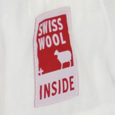 Swisswool inside ....proud to be Swiss and to use this on all our sleeping products. www.zizzz.ch