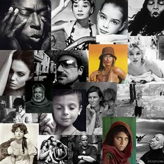 18 Famous Portrait Photographers to Admire - Portrait Inspiration School Photography, Photography Lessons, Photography Courses, Portrait Photography, Famous Portrait Photographers, Famous Portraits, Photo Class, Contemporary Photographers, Photo Projects