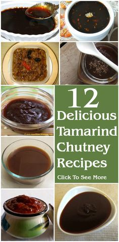 12 Delicious Tamarind Chutney Recipes You Can Try #delicious
