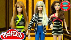 Play Doh Barbie Dolls Girls' Generation-TTS 소녀시대-태티서_Holler Inspired Cos...