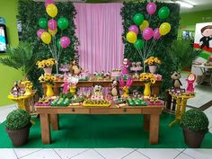 Trolls Birthday Party, Bear Birthday, 1st Birthday Parties, 3rd Birthday, Happy Birthday, Masha And The Bear, Moana Party, Bear Party, Flamingo Party