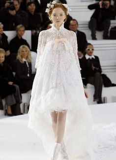 Chanel, white, dream dress