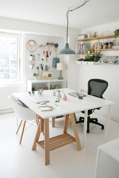 33 Craft Room Storage Projects for Your Home office. Craft Room Storage Projects For Your Home Office Your office space does not need to be huge! Regardless of the size of your house, you ought to be […] Home Office Storage, Craft Room Storage, Home Office Design, Home Office Decor, Office Ideas, Lp Storage, Office Inspo, Office Designs, Record Storage