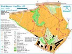 Map Sample Hamlins Hill
