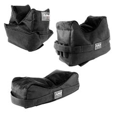 AIM Sports Shooting Front & Rear Bench Rest Bags (Three)