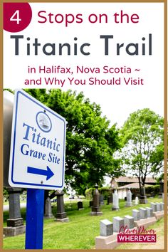 If you're a Titanic buff, you MUST visit Nova Scotia. Find out where to see Titanic history. Stop number four on my Canadian girls getaway road trip, these top things to do when you visit Halifax Nova Scotia will leave you yearning for more. Nova Scotia Travel, Visit Nova Scotia, New Travel, Canada Travel, Canada Cruise, Travel Guides, Travel Tips, Travel Plan, Titanic History