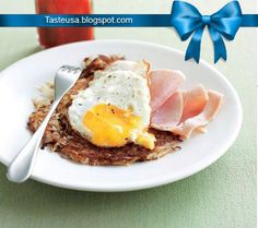 rösti with ham and eggs recipe