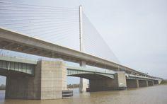 Veterans' Glass City Skyway bridge