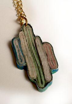 Paper Jewelry by Claire Altomari, via Behance