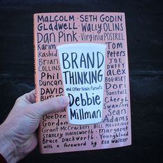 A great collection of interview conducted by Debbie Millman on brands and branding. You can buy this book used from my favorite book store Amazon