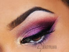 Beauty Palmira: Vintage Romance Look - I have this palette!  But not the skills