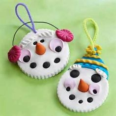 baked clay ornaments -