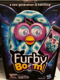 Play games, get eggs and raise virtual Furblings with the free Furby Boom app