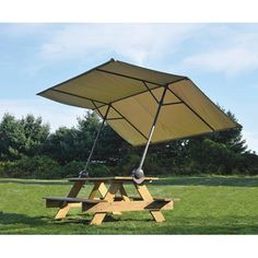 Picnic table canopy - $99 from Kotulas.com