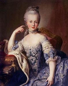 Marie Antoinette at age 12 by Martin van Meytens, circa 1767-1768. Martin van Meytens (June 24, 1695 – March 23, 1770) was a Dutch-Swedish painter who painted members of the royal Court of Austria such as Marie Antoinette, Maria Theresa of Austria, Francis I, Holy Roman Emperor, the Emperor's family and others. His painting style has inspired many other painters to paint in a similar format.