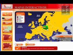Presentación de un recurso digital de la Consejería de Educación de la Junta de Castilla y León. Con este recurso podrás repasar los mapas físicos y políticos de todo el mundo.