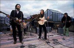 L'ultimo concerto dei Beatles su un tetto di Londra – 1969