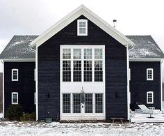 slate black house exterior