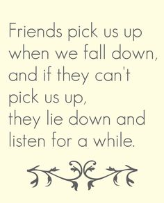 true #Friends