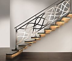 Modern interior staircase design ideas 2018 for luxury lovers, wood, glass, concrete and metal interior stairs designs and stair railing for high-class homes and villas
