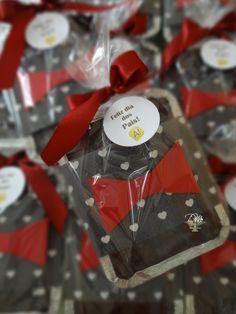 Marmitinhas de Brownie para evento Corporativo. Criativas e deliciosas!