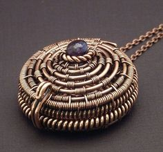 Basket Style Wire Woven Jewelry Designs by Wired Elements - The Beading Gem's Journal