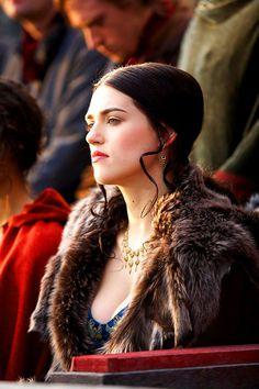 Merlin - Season 1 Episode 2 Still Morgana Le Fay, Merlin Morgana, Merlin Cast, Merlin Series, Tv Series, Merlin Colin Morgan, Lena Luthor, Katie Mcgrath, Fandom