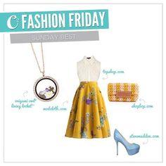 Origami Owl - Fashion Friday  Cute locket for Easter Sunday!