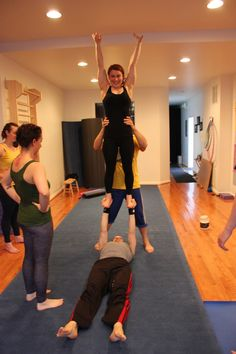 Adult Acro Class @charmcitymove #baltimore #circus Circus Activities, Acro, Baltimore, Magnolia, Capri Pants, Events, City, Capri Trousers, Magnolias