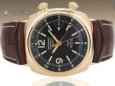 Panerai PAM 238 Radiomir GMT Alarm Special Edition (Just 200 Pieces) - 42mm Rose Gold